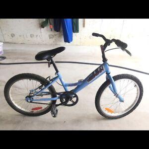 Blue bike for girl