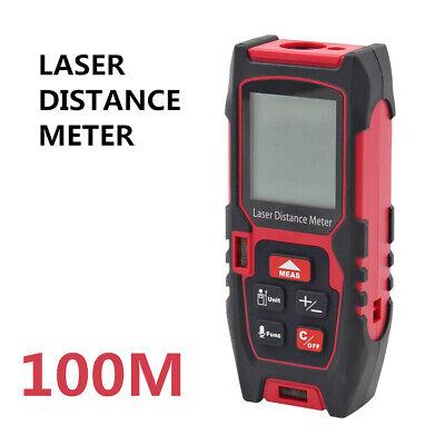 100m Laser Rangefinder High Precision Infrared Distance Meter Indoor Measuring
