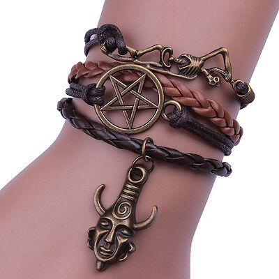 Supernatural Bracelet Deans Protection Amulet Cosplay Charm Bracelet Gift Props, used for sale  China
