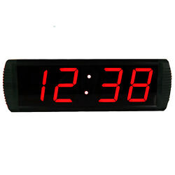 4'' 4Digits LED Countdown Clock Large Wall Clock Sport Timing Marathon Running