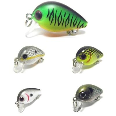 1inch 1/24 oz Crankbait Sinking Fishing Lure Shallow Water For Bass Fishing C746 1 Inch Lure