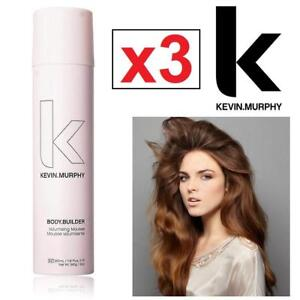 3 NEW KEVIN MURPHY VOLUME MOUSSE 200157184 BODY BUILDER VOLUMIZING HAIR CARE COSMETICS
