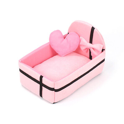 Hot Fashion Dog Cat Pet Princess Bed House Kennel Best Gift 3 Colors for