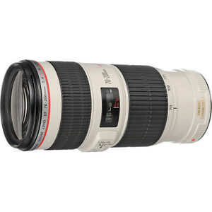 Canon EF 70-200mm F/4 L IS USM EXCELLENT ÉTAT A1 / MADE IN JAPAN