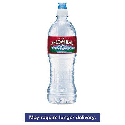 Arrowhead Natural Spring Water 23.6 oz Bottle 24 Bottles/Carton 827165 Bottled Water 24 Bottles