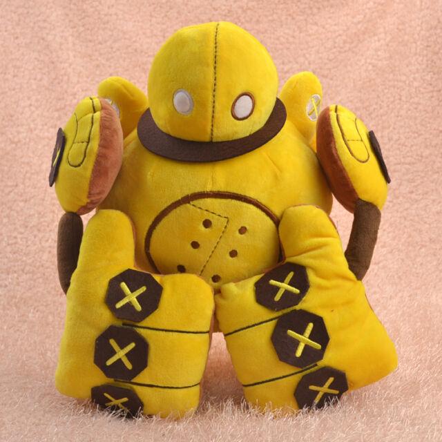 """New Blitzcrank Soft Plush LOL League of Legends Doll Stuffed Pillow Toy 35CM 14"""""""