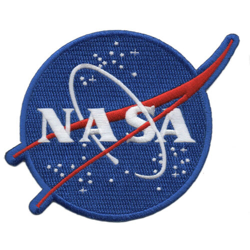 """NASA Meatball 2-1/2"""" Full Embroidered Emblem - FREE SHIPPING from U.S."""