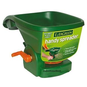 scotts evergreen handy hand held spreader lawn seed weed. Black Bedroom Furniture Sets. Home Design Ideas