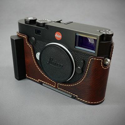 Lims Leica M10 Italian brown leather water proof dust proof aluminium grip case