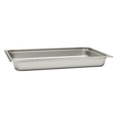 Full Size 2 Steam Table Pan Stainless Steel