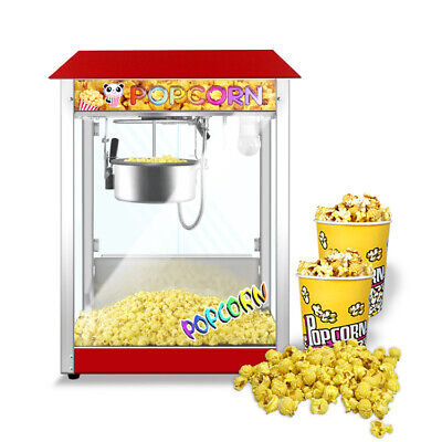 Commercial 8-ounce Professional Popcorn Machine Electric Popcorn Maker