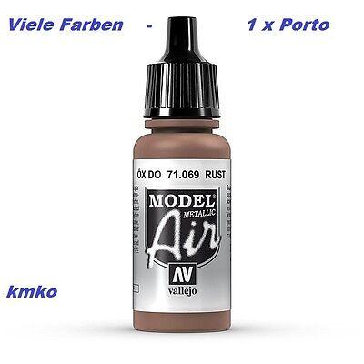 Vallejo Model Air MA 069 71.069 Rust, Rost metallic 17ml 27,06 €/100ml