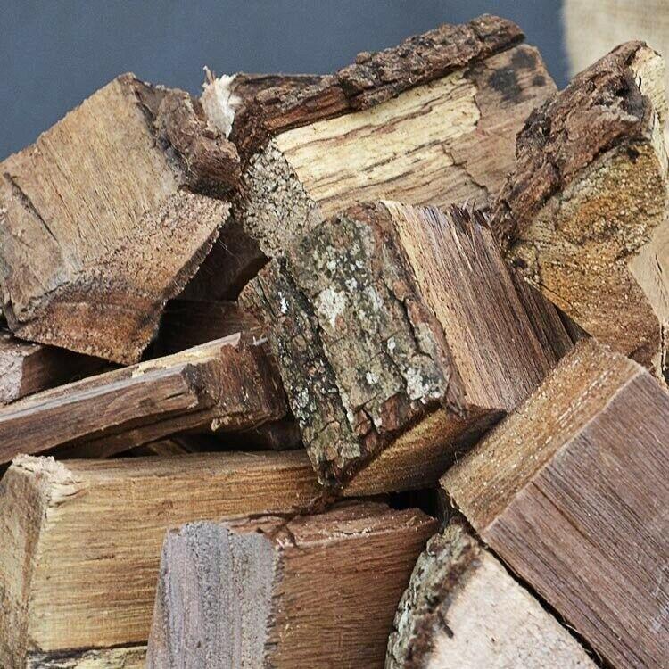 Black Walnut Wood Chunks for Smoking Meat Grilling, BBQ 10x12x8 box around 14 lb