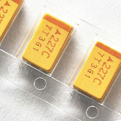 6value 3528 Smd Tantalum Capacitors Assortment Assorted Kit 30pcs