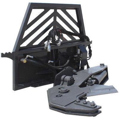 Prowler Hydraulic Rotating Tree Shear Skid Steer Attachment - 12 Inch Cut