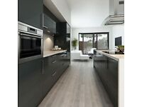 Complete black gloss kitchen package - £795