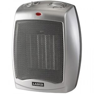 Lasko Ceramic Heater with Adjustable Thermostat 754200, New, Free Shipping