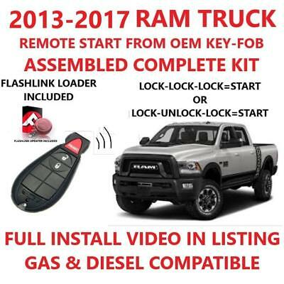Plug and Play Remote Start for 2013-2017 RAM 1500 2500 3500 4500