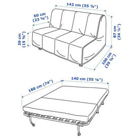 IKEA LYCKSELE MURBO Sofa Bed