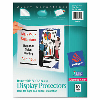 Avery Top-load Display Sheet Protectors Letter 10pack 74404