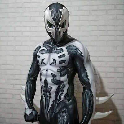 2099 Ultimate Spider-Man Costume Spiderman Muscle Zentai Suit Cosplay Halloween - Ultimate Costume