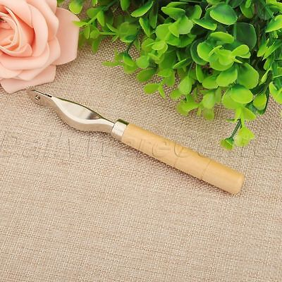 1X 2mm Overstitch Wheel Leather Stitch Spacing Paper Roulette Home DIY Hand Tool
