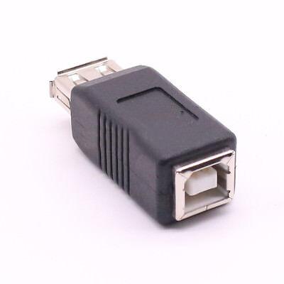 USB Type A Female to Printer Scanner Type B Female Adapter adaptor -