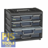 Raaco 136242 Portable Handybox RAA136242 Stackable or Wall Mounted Storage Unit