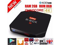 Latest GENUINE ILEPO R-BOX TV BOX ANDROID 5.1 2GB8GB 4K KODI16.1 Fully loaded