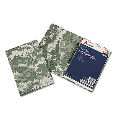 Nib - Nish Steno Pad Holder 6-12x9-12 Camouflage 6008651
