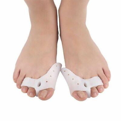 Toe Separator Straightener Stretcher Spreader Toes Spacer Bunion Corrector Pair Foot Creams & Treatments