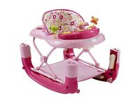 Baby Walker with extra footrest/rocker option
