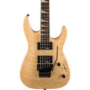 Jackson JS32Q Dinky DKA Electric Guitar w Floyd Rose Quilt Maple