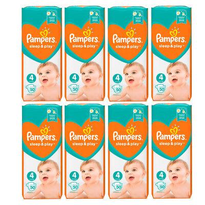 PAMPERS Simply Dry Sleep & Play Maxi Gr.4  9-14kg (50-400Stück)
