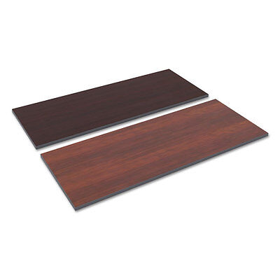 Alera Reversible Laminate Table Top Rectangular 59 12w X 23 58med Cherry