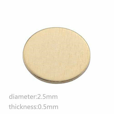 50x Surface Mount Contact Pad For Smt Plated Current Pogo Pin Probe Spring Pin