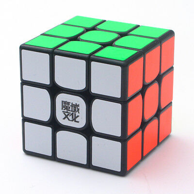 Moyu WeiLong GTS V2 3x3x3 Magic Cube Twisty Puzzle for Intelligence Toys  Black