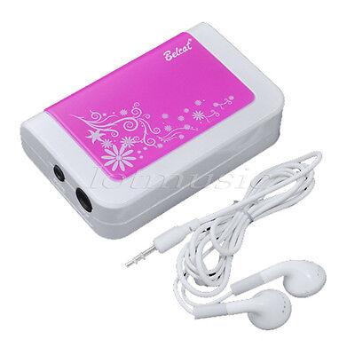 Belcat Pocket Guitar Amplifier with Mini Heaphones Amp Pink Pocket Guitar Amp