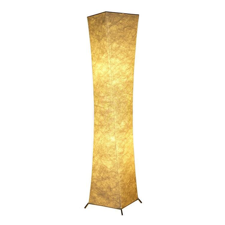 neu standleuchte stehlampe stoff schlafzimmer wohnzimmer h132cm einfach insta eur 39 99. Black Bedroom Furniture Sets. Home Design Ideas
