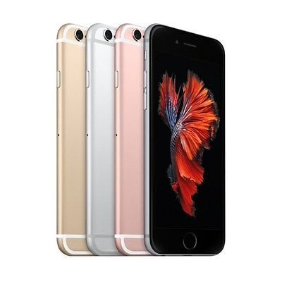 "Apple iPhone 6S 64GB ""Factory Unlocked"" 4G LTE 12MP Camera iOS Smartphone"