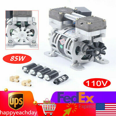 650mmhg-86kpa Oilless Vacuum Pump Low Noise 85w For Medical Equipment 25lmin