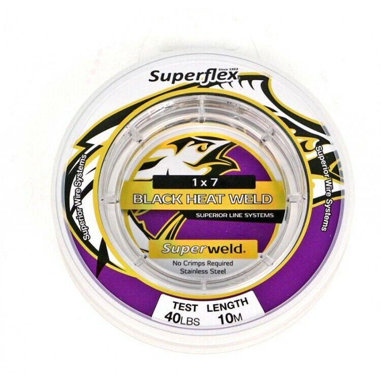 Superflex Superweld Black Heat weld 1x7 10m