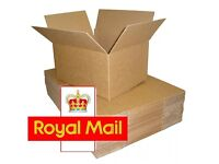 25 x NEW 350x250x160mm ROYAL MAIL SMALL PARCEL CARDBOARD POSTAL BOXES