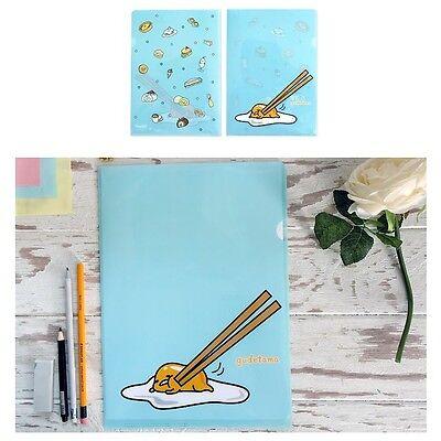 Sanrio Gudetama Lazy Egg School Office Layer File Folder : Dessert