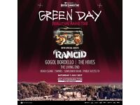 2 green day tickets at Hyde park summer time festival (priority entry greenday tickets)