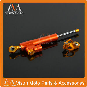 CNC Steering Damper Stabilizer for KTM DUKE Adventure SMC SMR 690 990 1190 1290