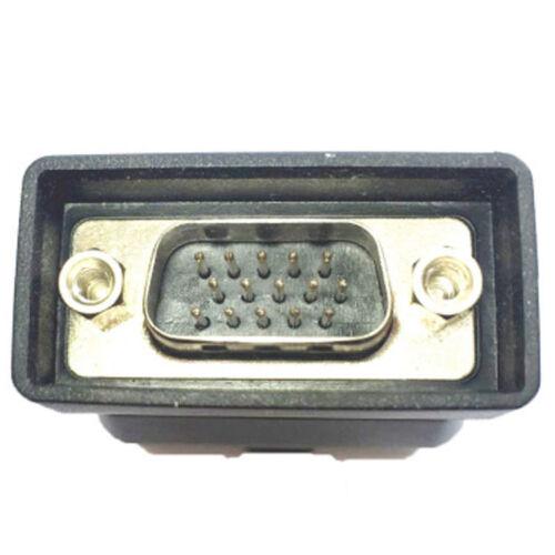 original smart obd2 obdii 16 e test adapter connector for. Black Bedroom Furniture Sets. Home Design Ideas