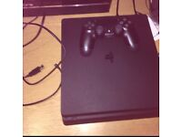 PlayStation 4 slim with call of duty IW legacy edition