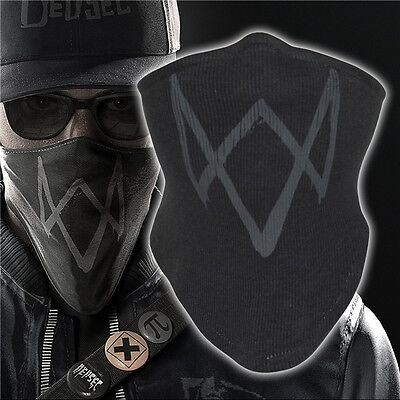 USA Watch Dogs 2 Marcus Holloway 's Mask Cosplay Costume Halloween Accessories