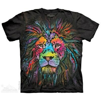 - Mane Lion T-Shirt by The Mountain. Big Face Tee Sizes S-5XL NEW